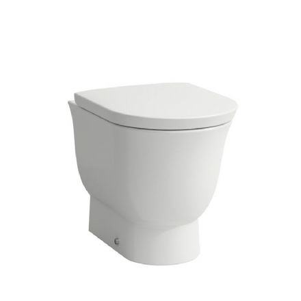 823851 - Laufen The New Classic Floorstanding Rimless Back-to-Wall WC/Toilet Pan - 8.2385.1